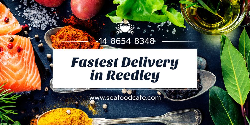 fastest food delivery banner — Crear un diseño