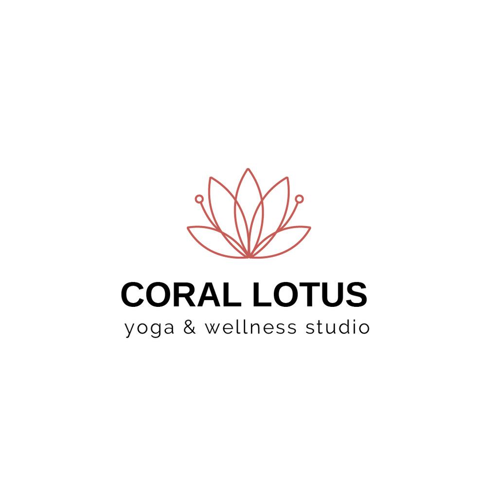 Spa Center Ad Lotus Flower — Modelo de projeto