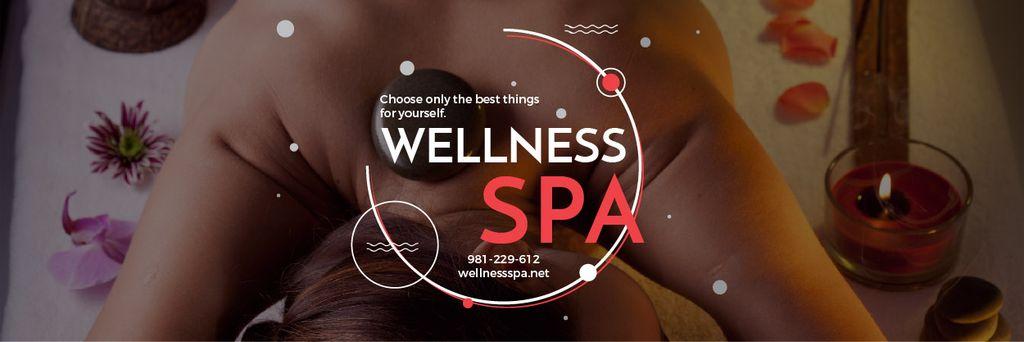 Wellness spa website — Crear un diseño