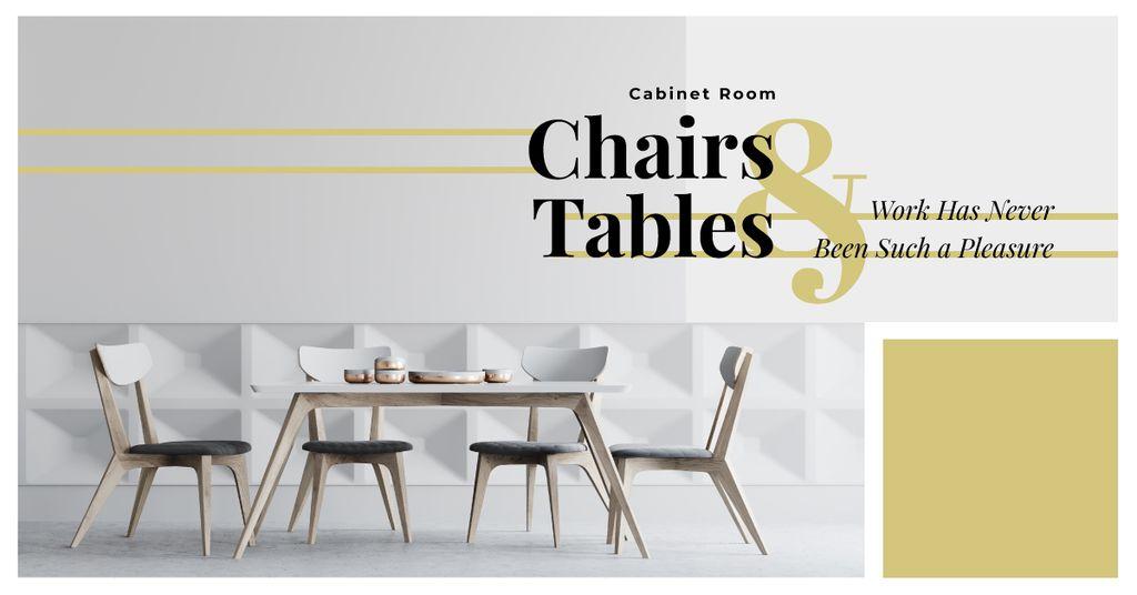 Stylish Dining Room Interior in White — Crear un diseño