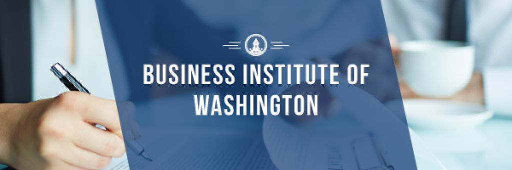 Business institute of Washington poster — Create a Design