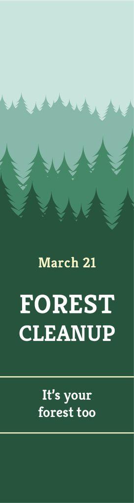 Forest cleanup day — ein Design erstellen