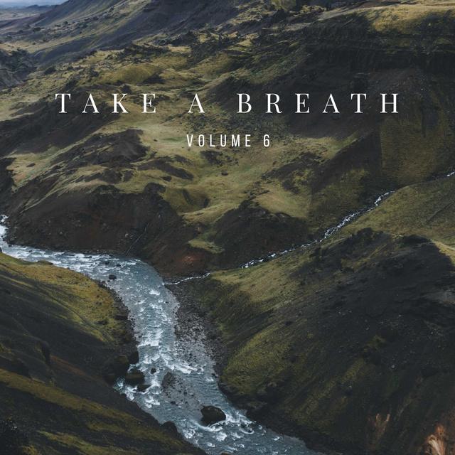 Plantilla de diseño de Scenic landscape with Mountain River Album Cover
