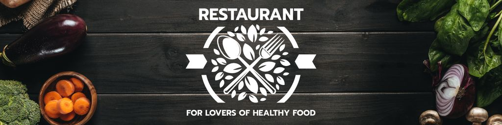 Restaurant for lovers of healthy food — Créer un visuel