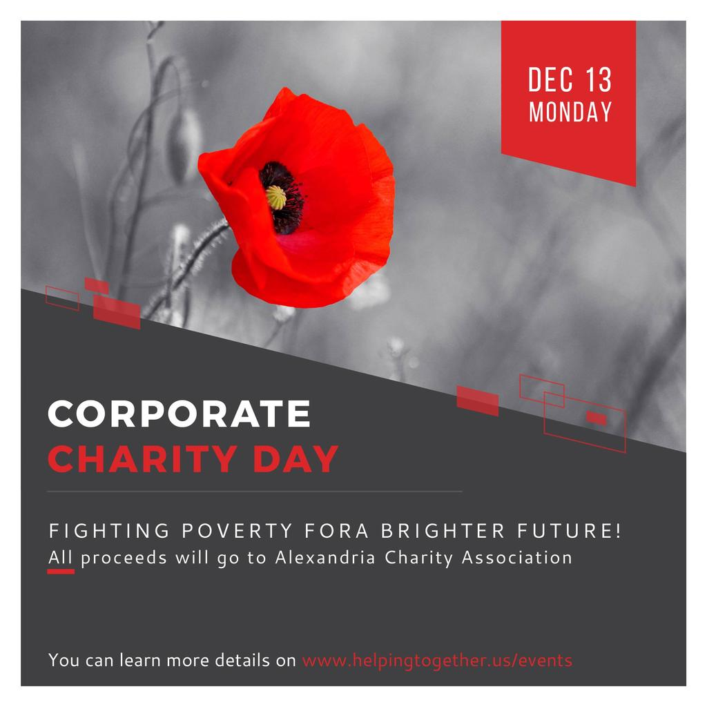 Corporate Charity Day — Crea un design