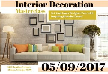 Interior decoration masterclass