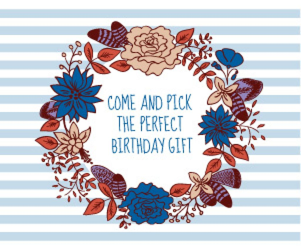 Happy birthday greeting card — Maak een ontwerp