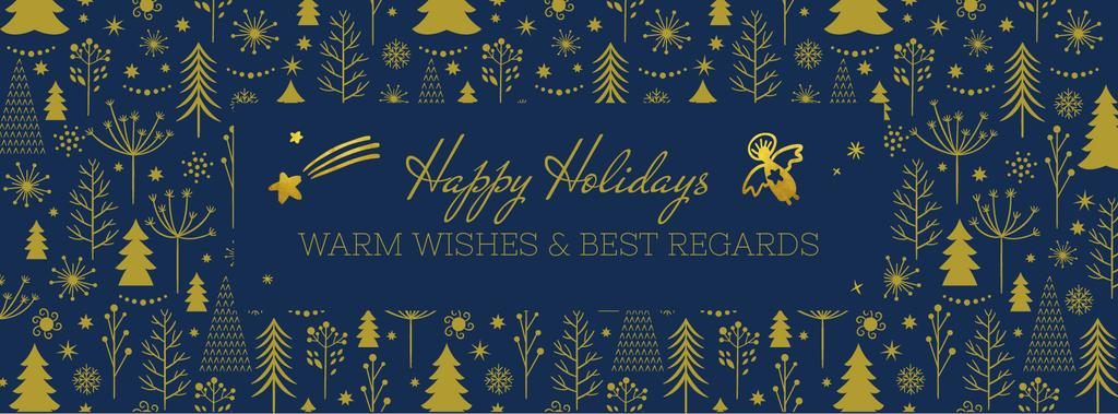 Happy holidays card — Create a Design