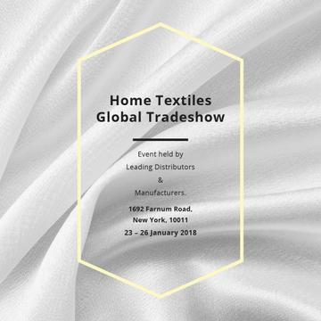 Home textiles global tradeshow Ad