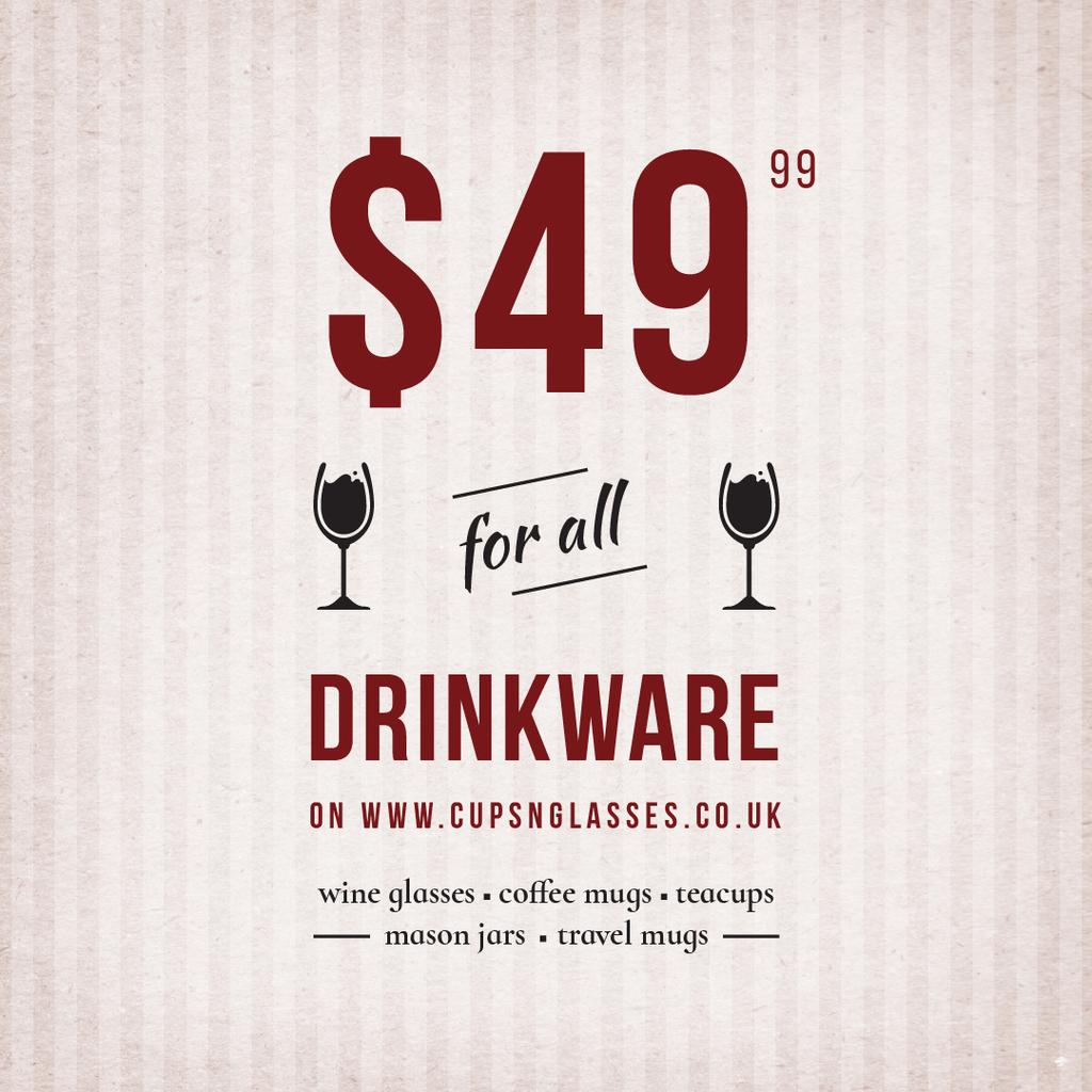 Drinkware for all shop — Crea un design