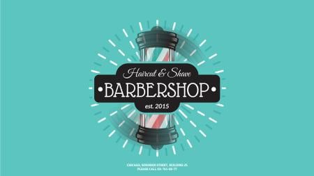 Barbershop Striped Lamp Full HD video Modelo de Design