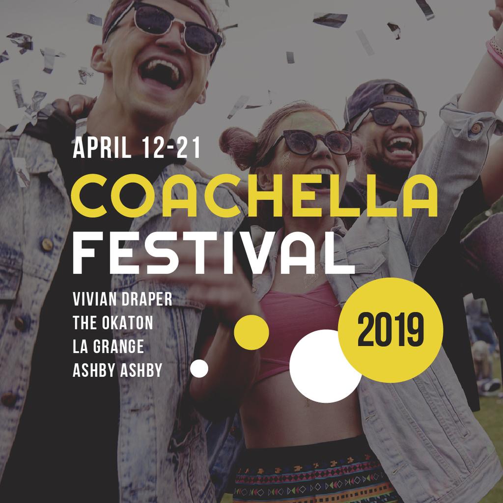Coachella Valley Music and Arts Festival — Create a Design