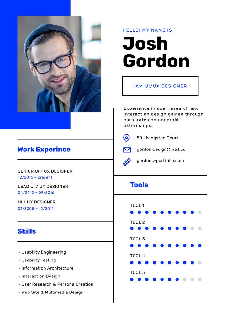 Professional Designer Profile — ein Design erstellen