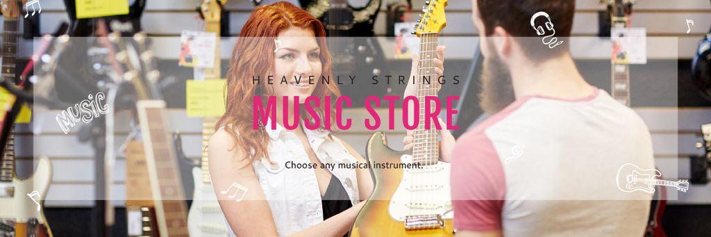Heavenly Strings Music Store — Modelo de projeto