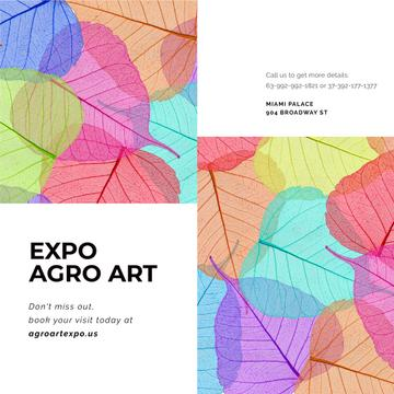 Nature Expo Art Invitation