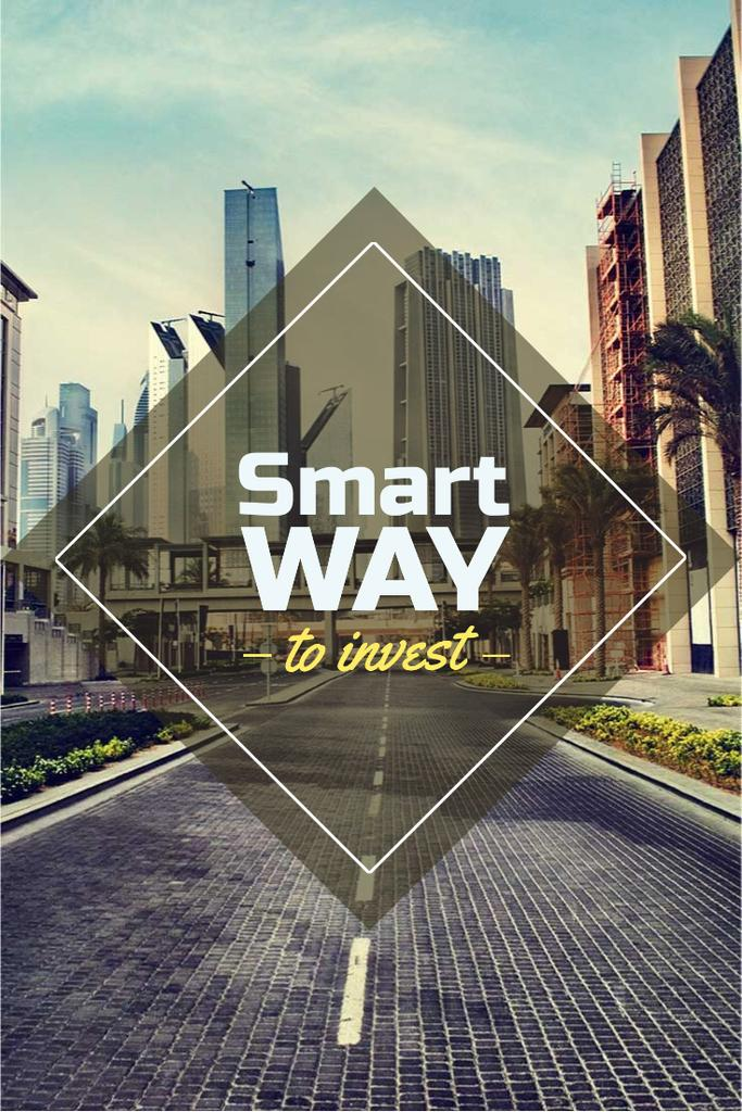Smart investments concept — Modelo de projeto