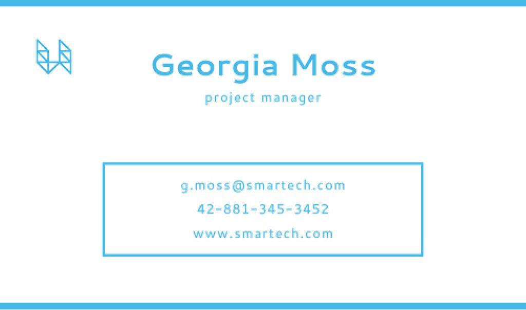 Modern business card — Create a Design
