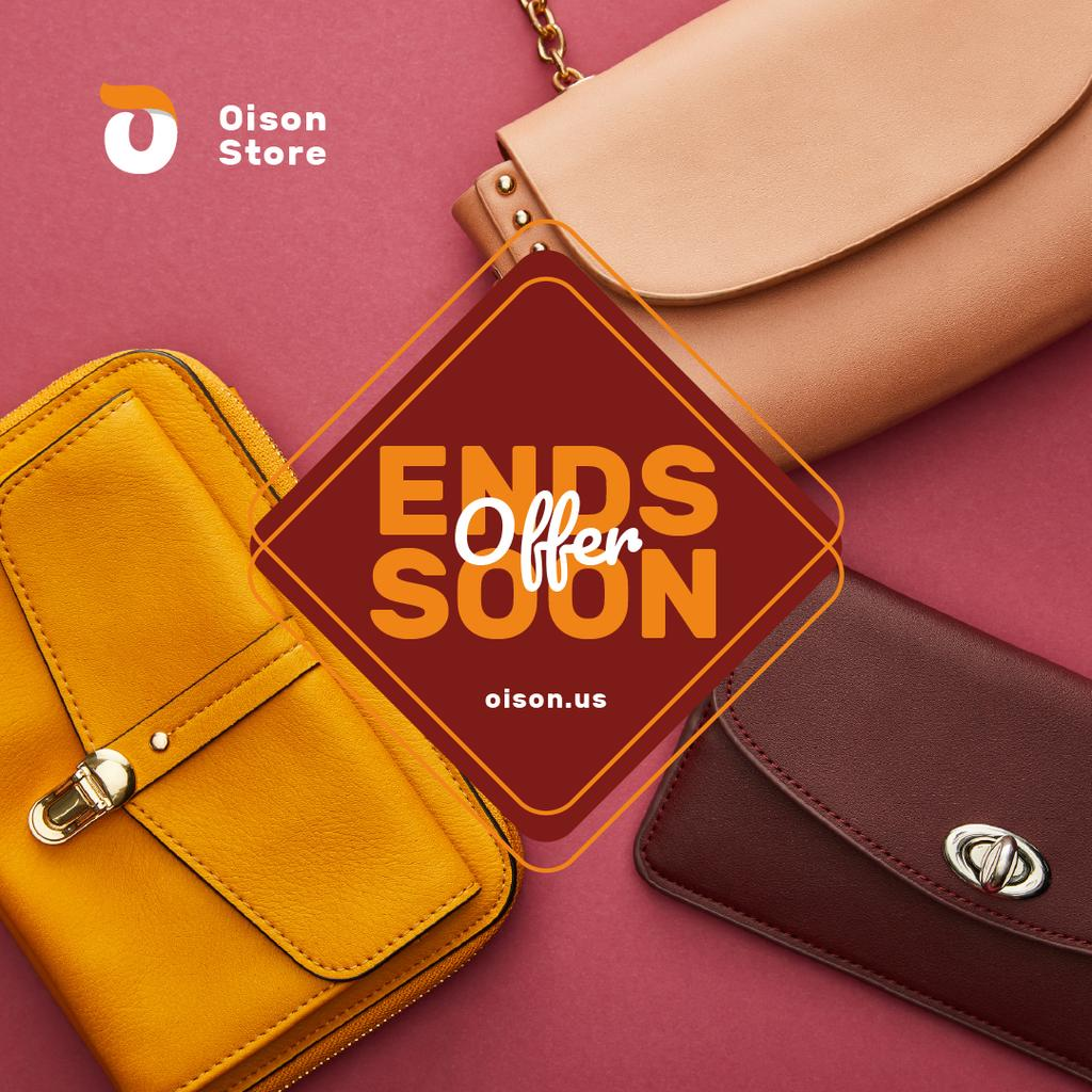 Accessories Discount Stylish Purses in Pink — Створити дизайн