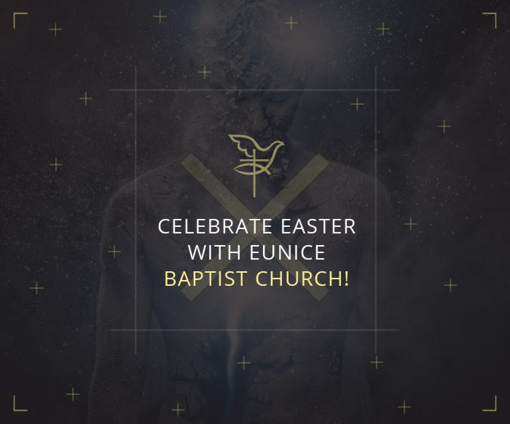 Easter in Baptist Church — Створити дизайн