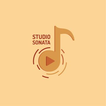 Music Studio Ad Note Symbol