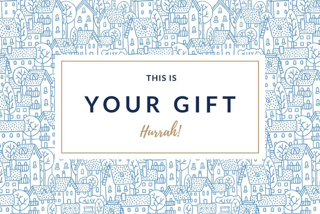 Gift voucher poster — Create a Design