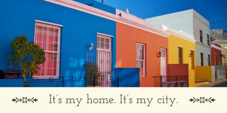 City quote poster Image – шаблон для дизайну