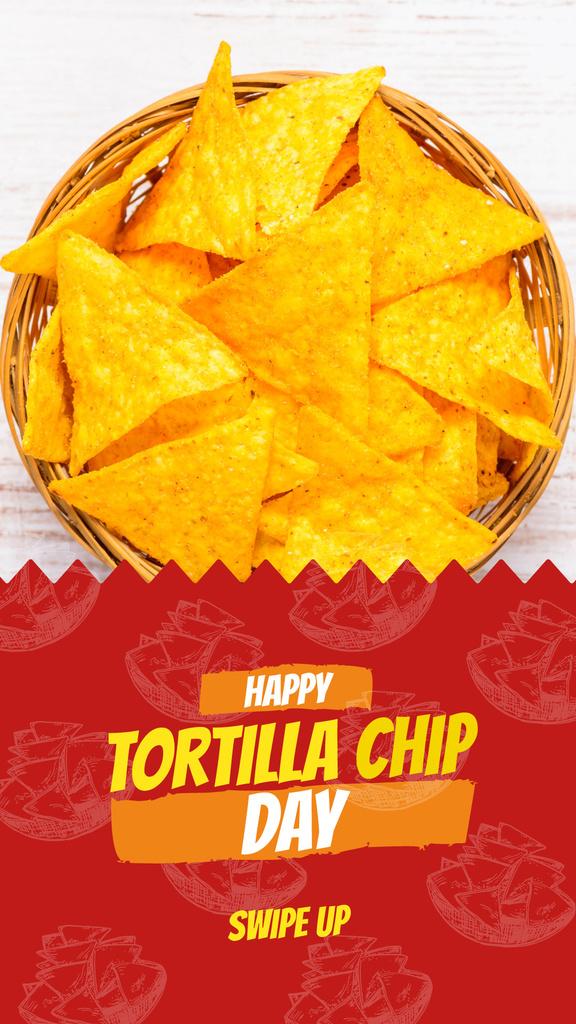 Tortilla chip Mexican dish — ein Design erstellen