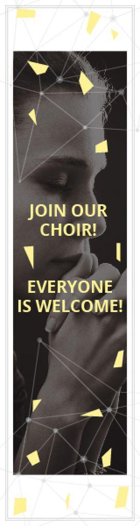 Invitation to a religious choir — ein Design erstellen
