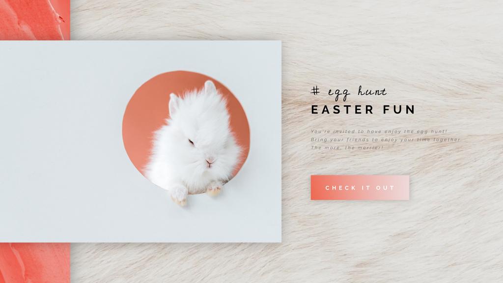 Cute Easter bunny — Create a Design