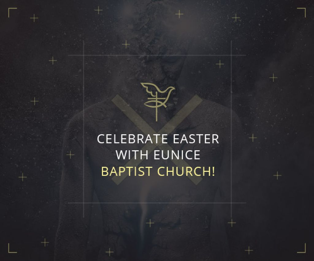 Easter in Baptist Church — Create a Design
