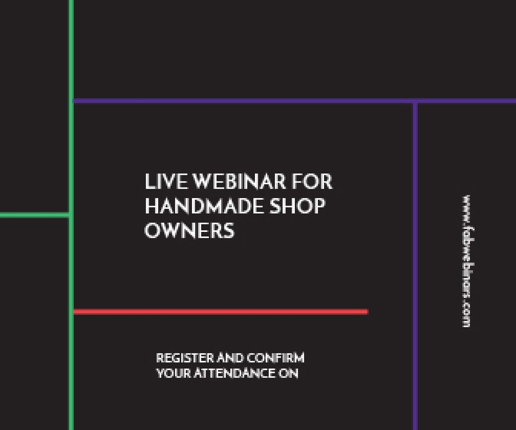 Live webinar for handmade shop owners — Создать дизайн