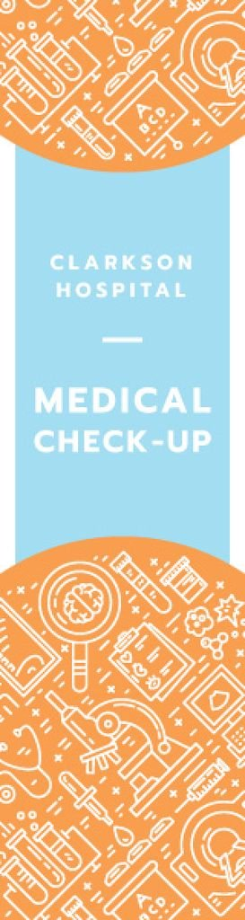 Medical check-up banner — Maak een ontwerp