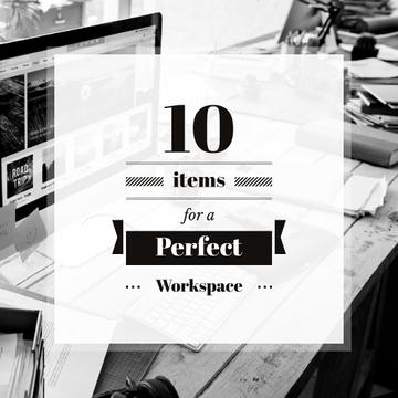 10 items for a perfect workspace