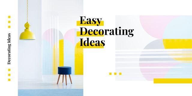 Cozy modern interior  Image Modelo de Design