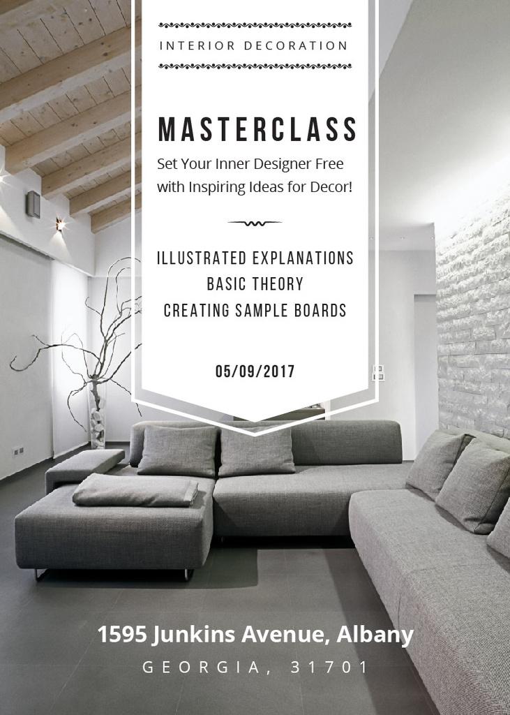 Interior decoration masterclass — Maak een ontwerp