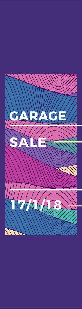 Garage sale poster — ein Design erstellen