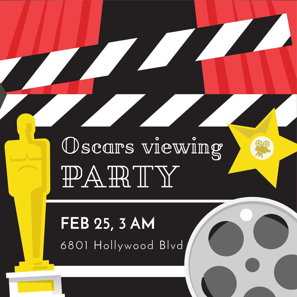 Oscar statuette and film bobbin — Crear un diseño