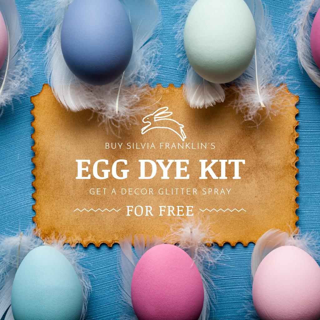 Easter Eggs Decor Offer — Crea un design