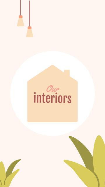 Template di design Design Studio interiors icons Instagram Highlight Cover