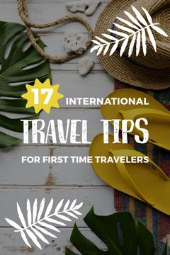 Travel Tips Inspiration Beach Attributes | Pinterest Template