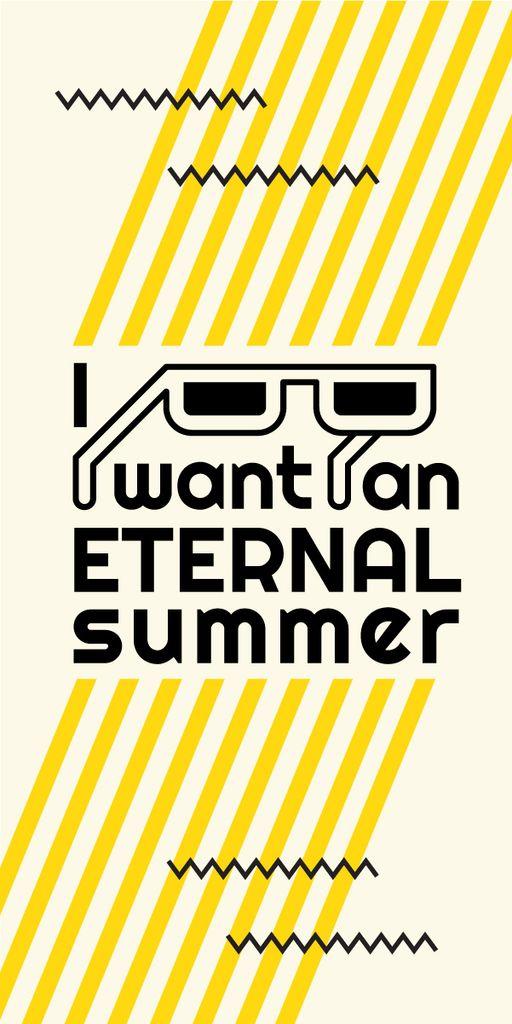 Eternal summer graphic poster — Create a Design