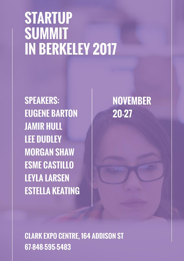 Startup Summit in Berkeley 2017 — Создать дизайн