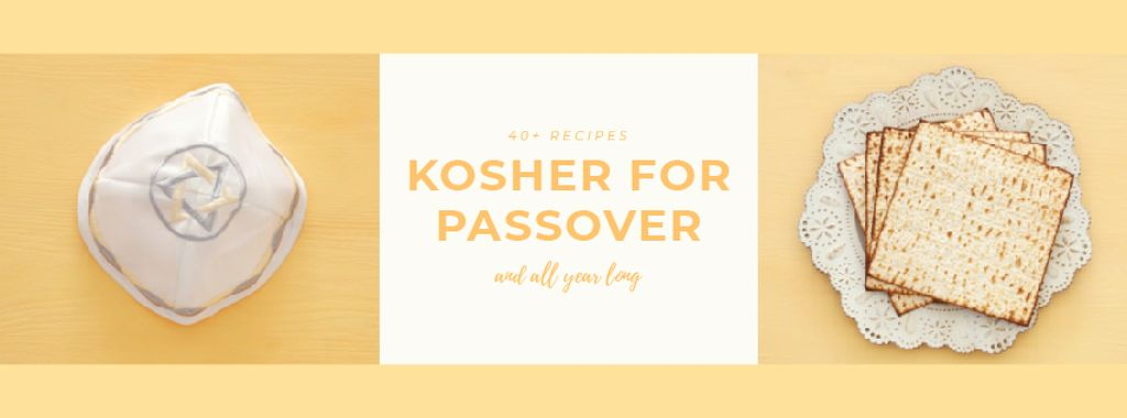 Happy Passover Celebration Attributes — Maak een ontwerp