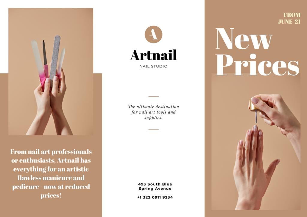 Nail Studio services offer — Créer un visuel