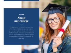 Happy Graduate holding Diploma