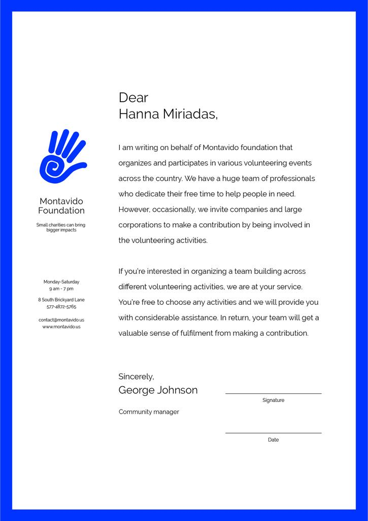 Volunteer Company participation offer — Crear un diseño