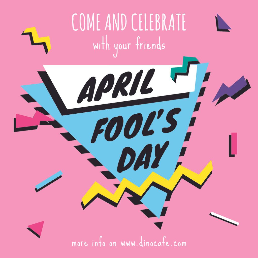 April Fool's day invitation — Modelo de projeto