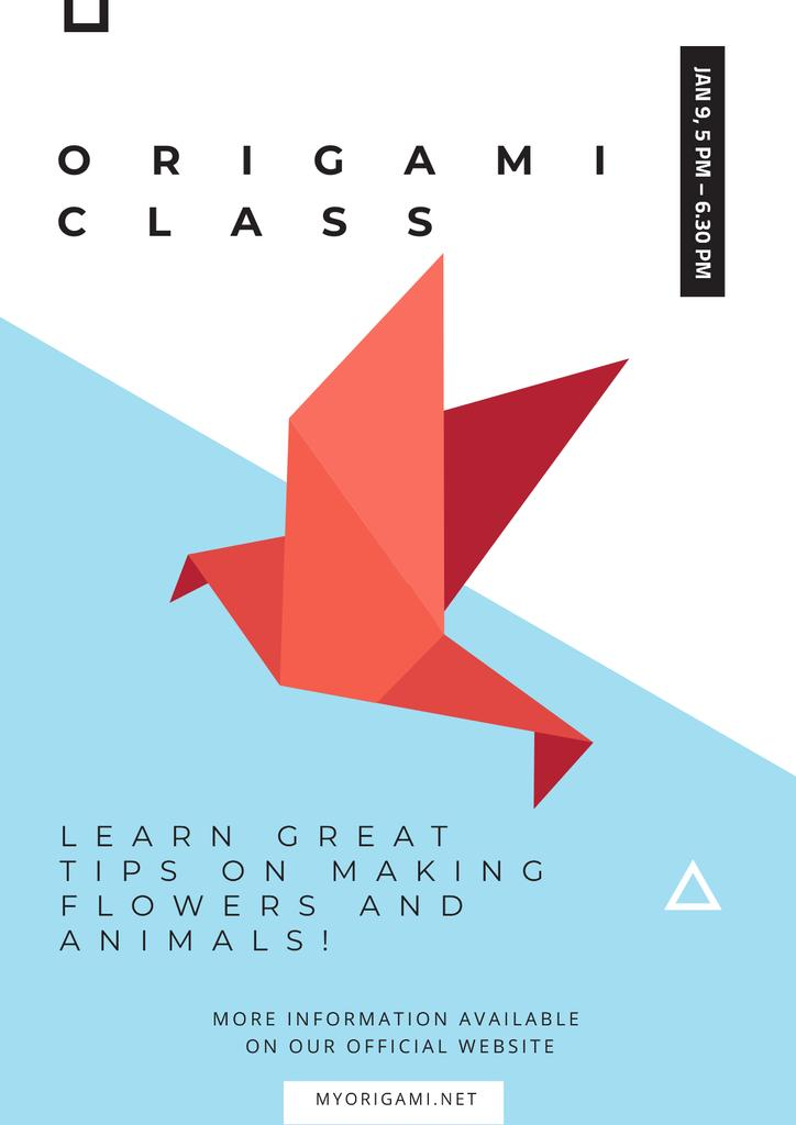Origami class Invitation — Modelo de projeto