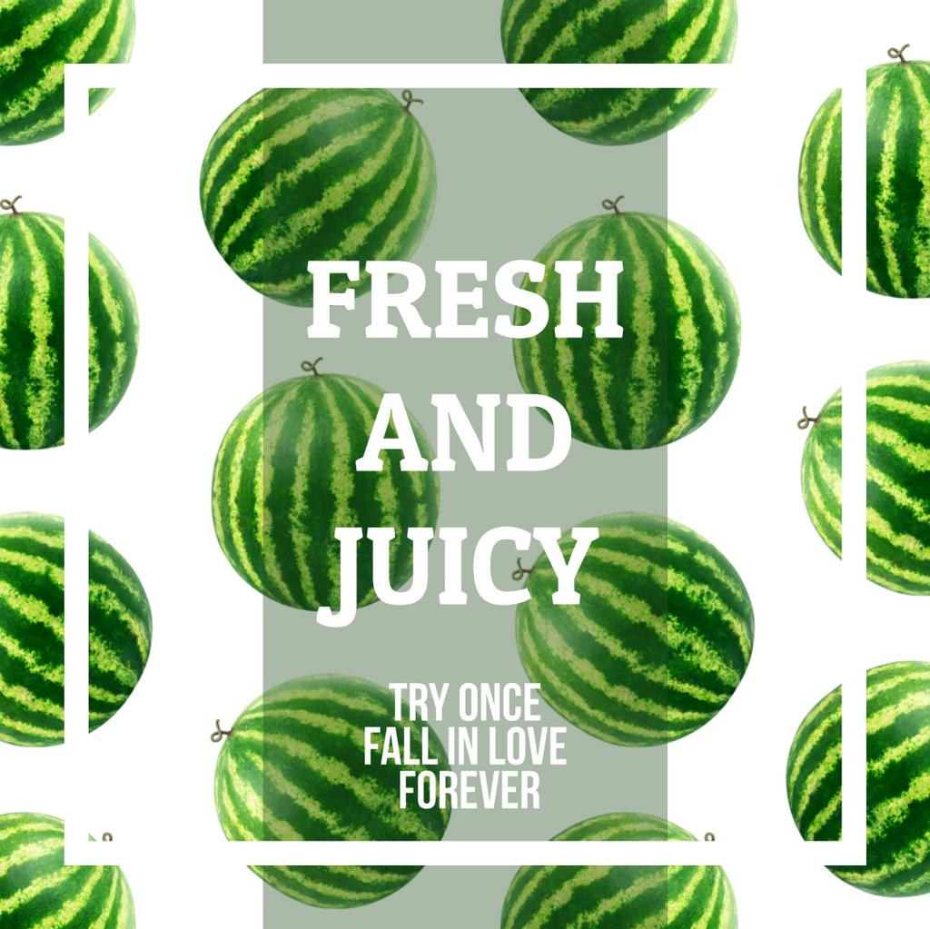Rotating Raw Watermelons — Créer un visuel