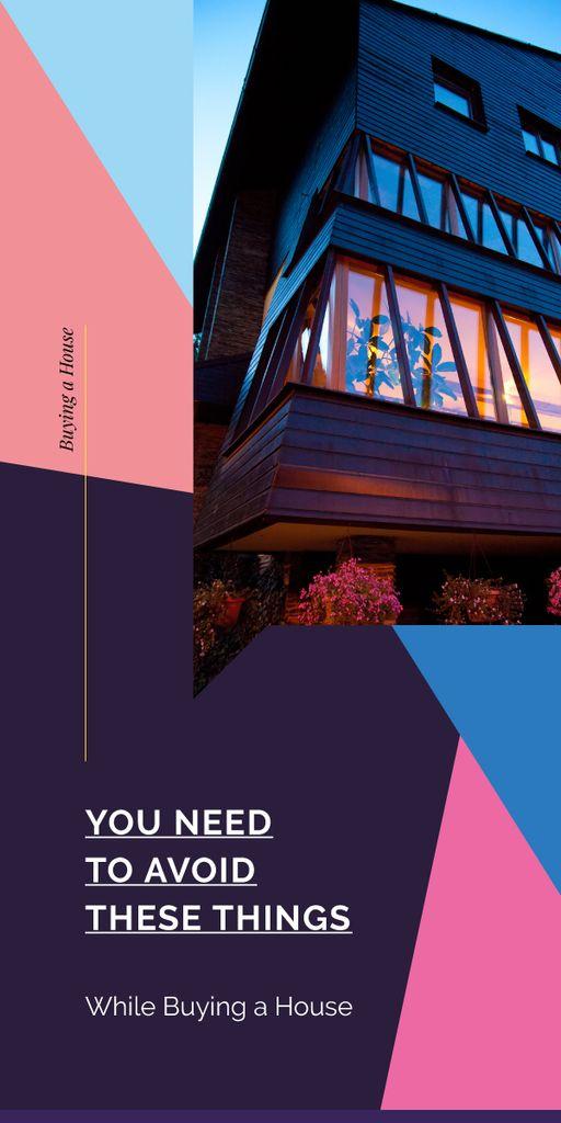 Modern house facade — ein Design erstellen